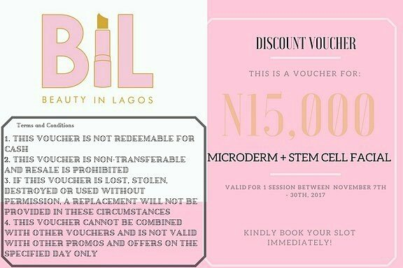 Beauty In Lagos Laserderm Giveaway