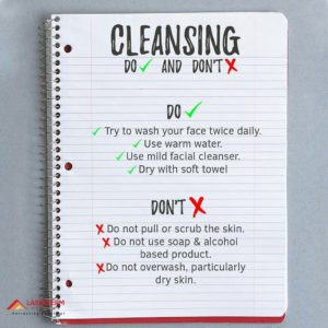 Cleansing rules