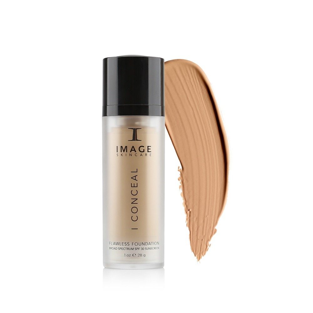 I CONCEAL Flawless Foundation SPF 30 – Suede
